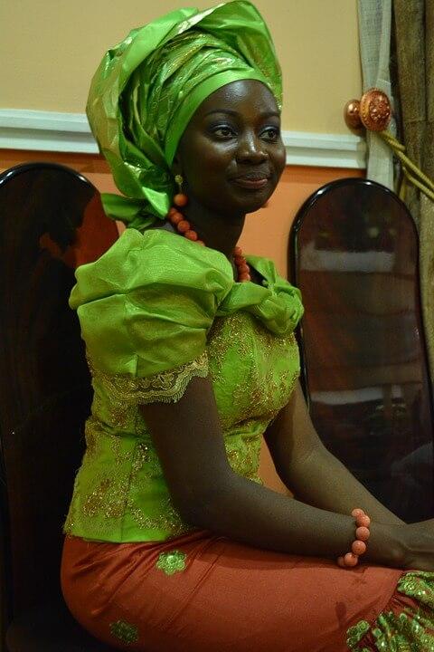 Tradicionális esküvő Afrika