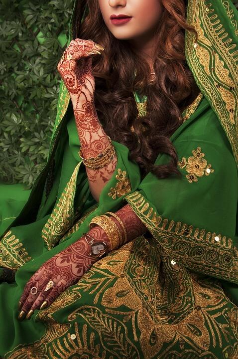 Tradicionális esküvő India