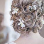 Különleges esküvői frizurák hosszú hajból