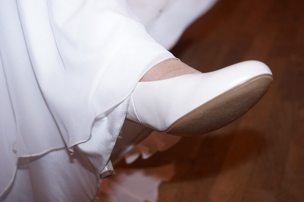 Tökéletes menyasszonyi cipő